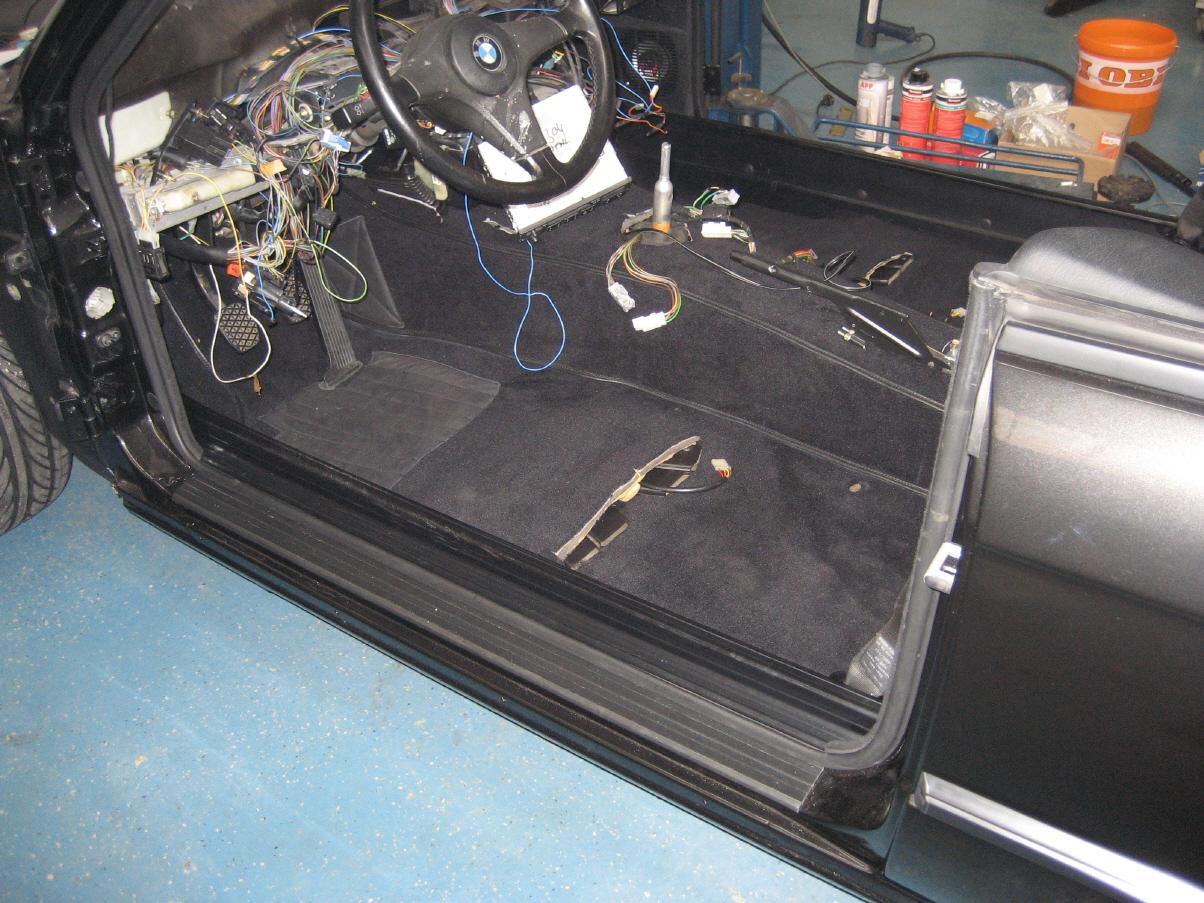 BMW E30 Cabrio Projekt